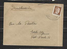 Allemagne Lettre Du 21 Avril 1944 Vers Esch Sur Alzette  LUXEMBOURG - Brieven En Documenten