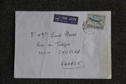 Lettre De ROUMANIE Vers FRANCE - Cartas