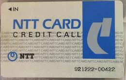 JAPAN : JAP03 NTT CARD CREDIT CALL USED - Japon