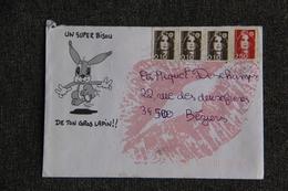 Lettre Du VAL De MARNE Vers BEZIERS - France
