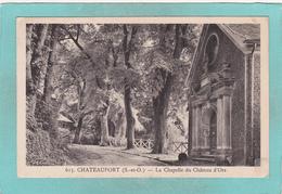 Old Postcard Of Châteaufort, Ile-de-France, France.,K41. - Autres Communes