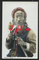 ASIE - TIBET - Tibetan Mendicant , Couleur - TOP RARE - Tibet
