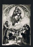 VATICAN -CITTA DEL VATICANO- Pinacoteca- Madonna Di Foligno- RAFFAELLO- Beau Timbre Au Verso -Paypal Sans Frais - Vatican
