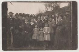 CPA POHTO 71 VAUX EN PRE Photo De Groupe Pour Des Noces D' Or (à Identifier) - Autres Communes