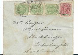 SA.I048 /  Südafrika - Johannisburg 1896 Nach Edingburgh,  Schottland, TPO Umseitig - Other