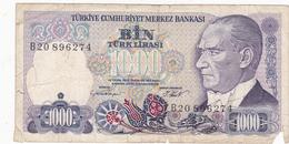 Turquie - Billet De 1000 Lira - 14 Janvier 1970 - Turkey