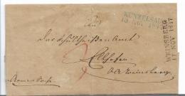 WTB204 /   WÚRTTEMBERG - Brief, Künzelsau (BLAU), WEINSBERG (SCHWARZ) 1817 - Duitsland