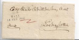 WTB207 / WÚRTTEMBERG -   Brief,  HALL 1826, Voller Textinhalt - Duitsland