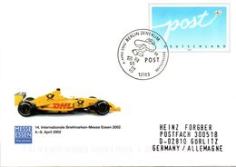"""BRD Amtl.GZS-Umschlag USo 36 """"Int. BM-Messe Essen 2002"""" ESSt. 4.4.2002 BERLIN ZENTRUM - [7] République Fédérale"""