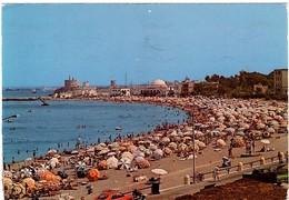 Rhodes Aquarium Beach + Town View 2 Postcards - Grèce