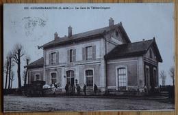 77 : Guignes-Rabutin - Gare De Yèbles-Guignes - Animée : Petite Animation - Attelage - (n°10189) - Autres Communes