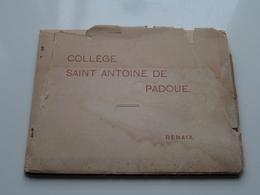 Oude CARNET Vieux ( Collège SAINT ANTOINE De PADOUE ) Anno 19?? ( Zie/voir Photo Voor/pour Détail ) Kaft Stuk ! - Renaix - Ronse