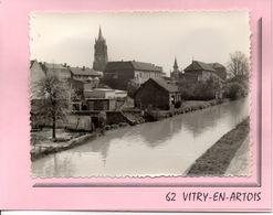 62 - VITRY EN ARTOIS - Lot De 3 Cartes Photos (collées Sur Un Carton Double, Avec Enveloppe Et Pochette) - Vitry En Artois