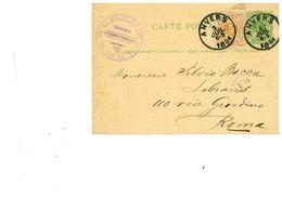 ANVERS 1884 - Autres