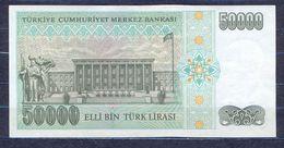 Turkey - 1995 - 50 000 Lirasi -  P204...aUNC - Turkey