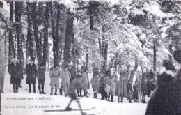 06 - Alpes Maritimes -  PEIRA CAVA  - Le Concours De Ski - France