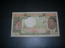 Gabon 10000 Francs - Gabon