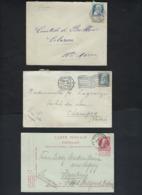 10 Documenten GROVE BAARD Met Enkele ZELDZAME Afstempelingen. Inzet Aan 10 € ! LOT 210 - 1905 Grosse Barbe