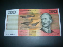 Australia 20 Dollars - Decimal Government Issues 1966-...