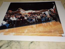 PHOTOGRAPHIE DENNIS RODMAN GOLDEN STATE WARRIOS 1997 - Sports