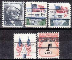 USA Precancel Vorausentwertung Preo, Locals Ohio, Saint Marys 841, 5 Diff. - Vereinigte Staaten