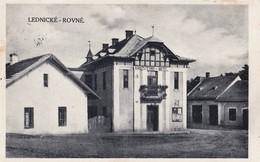 Lednicke Rovne , 1944 ,  Hotel , Glasfabrik , Puchov - Slovaquie