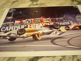 PHOTOGRAPHIE CLAUDIA HURTGEN G PRIX DE F 3000 1993 - Automobile - F1