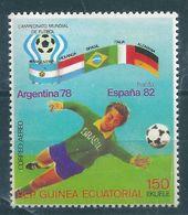9306 Equatorial Guinea Sport Football Soccer World Cup Argentina MNH - World Cup