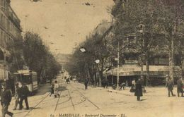 MARSEILLE  Boulevard Dugommier TRAM   Commerce Felix Potin Recto Verso - Canebière, Centro