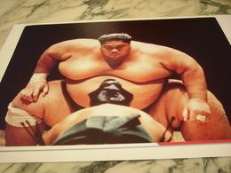 PHOTOGRAPHIE COMBAT DE SUMO ANGLETERRE 1991 - Sports De Combat
