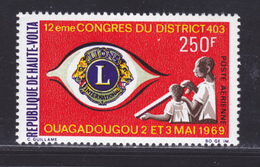 HAUTE-VOLTA AERIENS N°   65 ** MNH Neuf Sans Charnière, TB (D5555) Lions Club International - Obervolta (1958-1984)