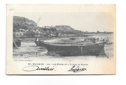 CPA 13 Saint Chamas Les Bords De L'etang De Berre  Dos Simple  1902 - France