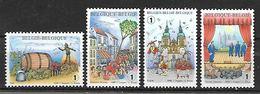 Belg. 2008 - COB N° 3800 - 3801 - 3802 - 3803 ** - Folklores Et Traditions - Ongebruikt