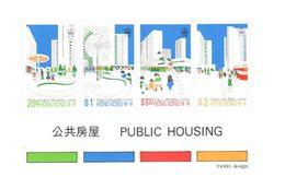 Hong Kong 1981 Mnh ** Sheet 7 Euros - Hong Kong (...-1997)