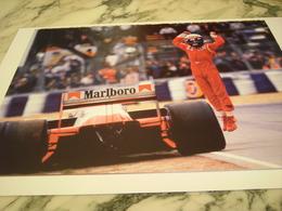 PHOTOGRAPHIE ALAIN PROST GP D AUSTRALIE 1986 - Automobile - F1