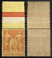 France N° 94 HdF Neuf ** Centra.Parfait - Signé - Cote 350 Euros - LUXE - 1876-1898 Sage (Type II)