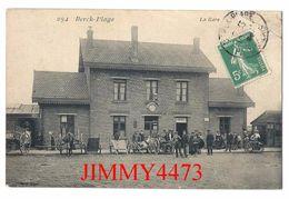 CPA - La Gare, Bien Animée En 1905 - BERCK PLAGE 62 Pas De Calais - N° 294 - Pas De Nom D'éditeur - Berck
