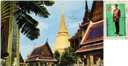 THAILAND  TAILANDIA  BANGKOK  Main Bigh Chedee At Wat Phra Keo  Nice Stamp - Tailandia