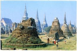 THAILAND  TAILANDIA  Ruins Of Ayuthaya - Tailandia