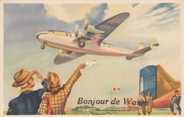 Wavre , Bonjour De Wavre ( Avion ) - Wavre