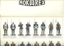JEU D'ÉCHECS MOKAREX - Planches Complètes Pour Décorer Les Figurines Du XV° Siècle - - Documents Historiques