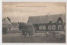Cpa  Beauvechain  Ferme  1925 - Beauvechain