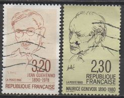 FRANCE  1990  N°2641/2671__OBL VOIR SCAN - Frankreich