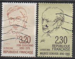 FRANCE  1990  N°2641/2671__OBL VOIR SCAN - Gebraucht