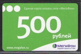 ТЕЛЕФОННАЯ КАРТА МЕГАФОН 500 РУБ - Russia