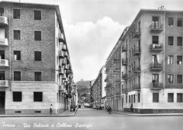 """07456 """"TORINO - VIA OSLAVIA E COLLINA DI SUPERGA"""" ANIMATA, AUTO, VERA FOTO,S.A.C.A.T. 1178 CART NON SPED - Italie"""
