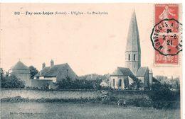 Cpa 45  Fay Aux Loges église - Sonstige Gemeinden