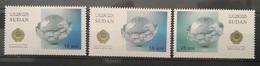 HXSU1 - Sudan 2016 Complete Set 3v. MNH - Arab Postal Day,joint Issue Bwteen Arab Countries - Sudan (1954-...)