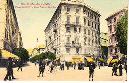 ITALIA - SAVONA -  Piazza E Corso..... ...... - Animata, 1907 - MAG. 2016 - 212 - Savona