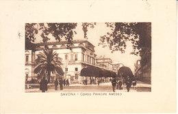 ITALIA - SAVONA -  Corso..... ...... - Animata, 1913 - MAG. 2016 - 213 - Savona
